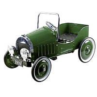 Педальна машинка goki Ретроавтомобіль 1939 зелений 14073