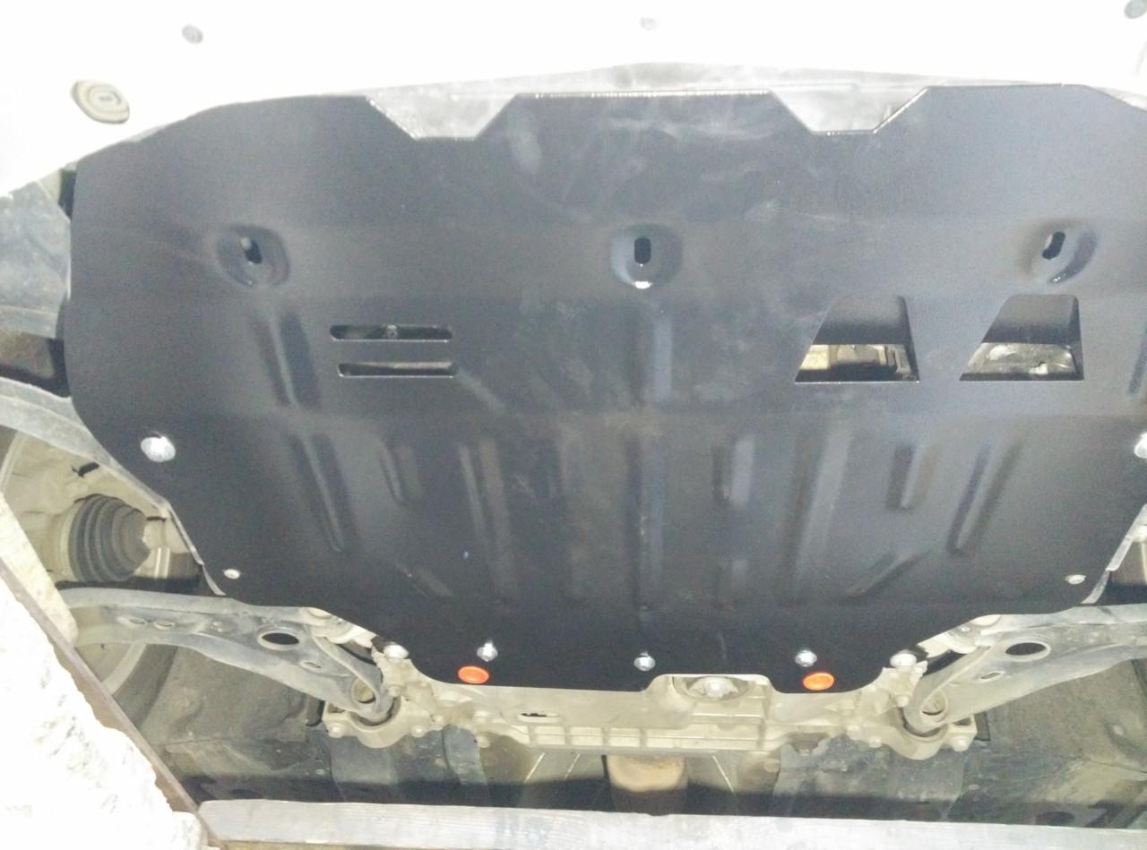 Защита двигателя  Volkswagen Touran I (2002-2015)  \ двигатель+ КПП. 2мм,сталь.
