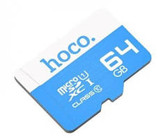 Карта пам'яті Hoco MicroSD 64GB Class 10