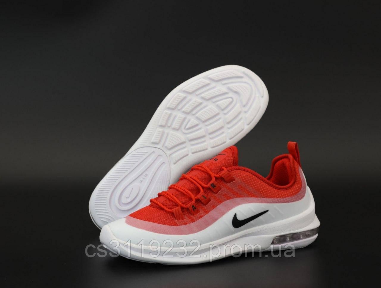 Мужские кроссовки Nike Air Max Axis (бело-красные)