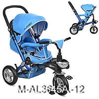Детский трёхколёсный велосипед Turbo Trike M-AL3645A-12