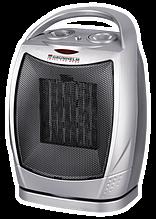 Тепловентилятор керамиский 1,5 кВт, до 15 кв.м, поворотный, 1.5 кг PTC-905A (750/1500Вт, 220В)
