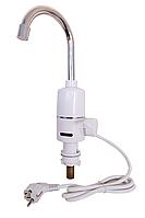 Электрический проточный водонагреватель 3 кВт, до +60 град, подводка нижняя Grunhelm EWH-3G
