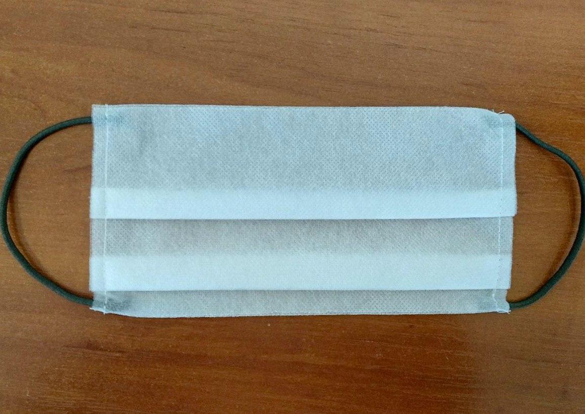 Повязка - маска нестерильная из нетканого материала 3-х слойная с ЦВЕТНОЙ РЕЗИНКОЙ.ЕСТЬ СЕРТИФИКАТ