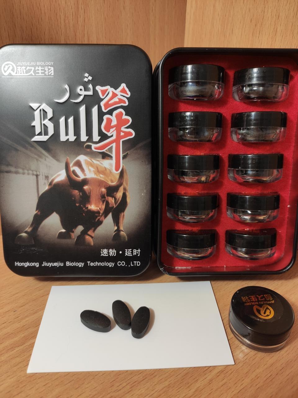 Бык для повышения потенции Bull 30 шт