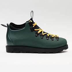 Кроссовки мужские оригинальные Native Fitzsimmons Citylite Spooky Green/Jiffy Black зеленые
