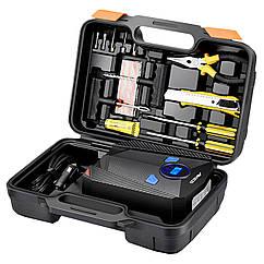 Набор автокомпрессор AIKESI AKS-5501 + инструменты для ремонта 2619-7110, КОД: 1613094