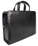 Деловой портфель A-art женский искусственная кожа Черный 26TDW, КОД: 1586924