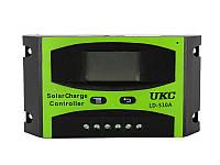 Контроллер для солнечной батареи UKC LD-510A 10A Черный hubnp21212, КОД: 666882