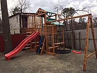 Детский игровой комплекс для дачи Babyland-9 (Киев), фото 1