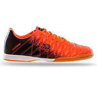 Обувь для футзала Zelart, верх-PU, подошва-PU, р-р 41-45, оранжевый (DM019604-(or))