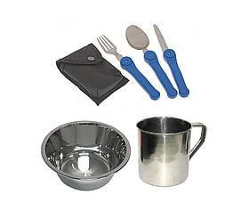 Набор посуды туристический 5 в 1 132-1312358, КОД: 110294