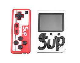 Портативная игровая ретро приставка Sup SEGA 8bit Game Box с джойстиком Белый 106, КОД: 1580098