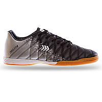 Обувь для футзала Zelart, верх-PU, подошва-PU, р-р 41-45, серый (DM019604-(gr))