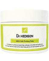 Пилинг-диски с AHA-кислотами Dr.Hedison AHA Soft Peeling Pads 70 шт 12160200, КОД: 1459233