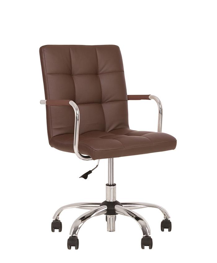 Кресло с подлокотниками Ральф коричневое RALPH GTР ECO-31 от от Nowy Styl