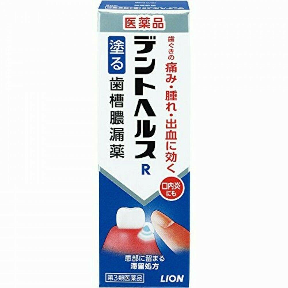 Lion DENT HEALTH R Perio Care Gel стоматологический лекарственный гель от гингивита, пиореи, парадонтоза 40 г