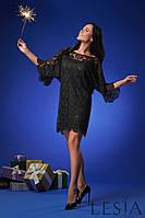Кружевное черное нарядное платье Lesya Эклия 2.
