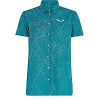 Рубашка Salewa Puez Print DST S/S Shirt Wms