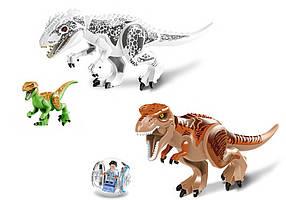 Индоминус Рекс + Ти Рекс Конструктор Lele Мир Юрского периода  (аналог Lego Jurassic World 75919)
