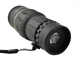 Монокуляр Bushnell 16x52 с двойной фокусировкой + чехол Черный hubnp21298, КОД: 905654