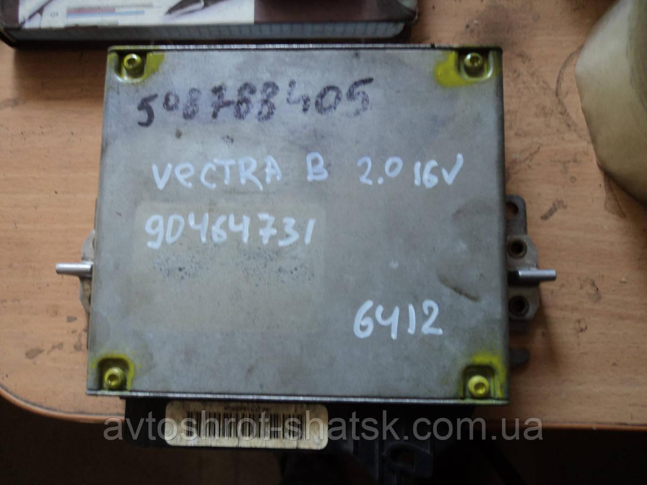 ЭБУ двигателем OPEL VECTRA B 2.0, GM 90464731