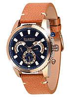 Мужские наручные часы Guardo Коричневый S01896 RgBlBr, КОД: 1548748