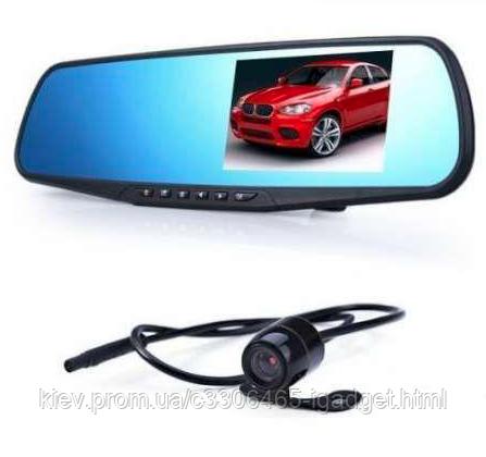 Зеркало регистратор 2 камеры Full HD L 900 ( + камера заднего вида )
