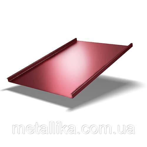 Фальцевая кровля 0,45 мм Китай PE ВК Металика
