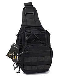 Сумка-кобура Roco Tactical 1000D Черная new69119, КОД: 1584275