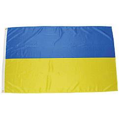Флаг Украины 180х300 люверс 90-020-025, КОД: 942126