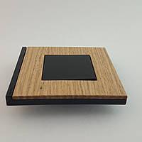 Рамка 2 постовая Unica Pure, дуб, 2х2 модуля