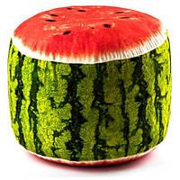 Мягкий надувной пуфик FRUIT POUF Kronos Toys FP-01-01 Зеленый tsi55906, КОД: 371002