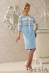 Ніжне плаття двійка зі знімним жакетом-болеро Lesya Форту.