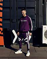 Спортивные штаны Palm Angels Espo фиолетовый
