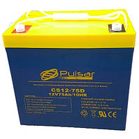 Аккумулятор глубокого разряда PULSAR CS12-75D, КОД: 1244478