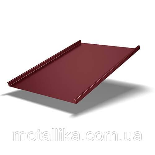 Фальцевая кровля 0,4 мм Китай PEMA ВК Металика