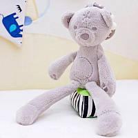 М'яка іграшка-підвіска Ведмедик. Підвіска-брязкальце на коляску, автокрісло, ліжечко