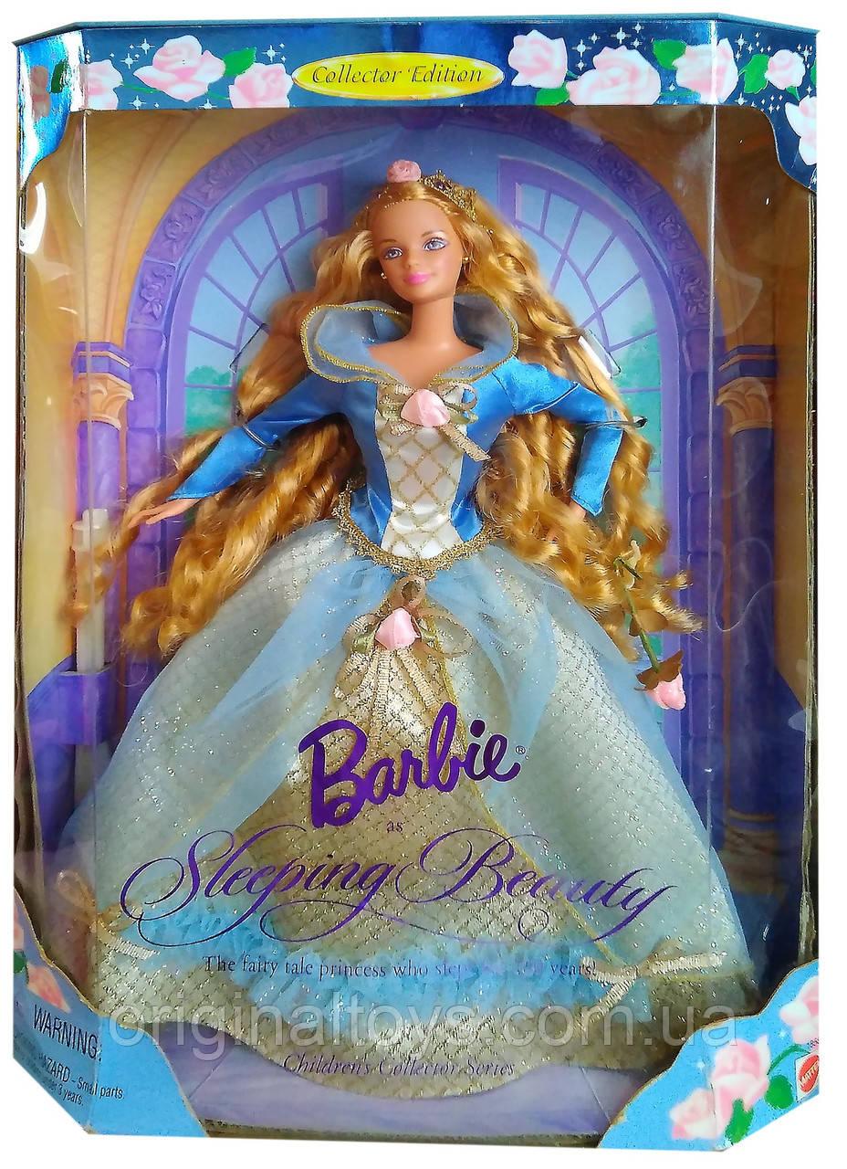 Колекційна лялька Барбі Аврора Спляча красуня Barbie Sleeping Beauty 1997 Mattel 18586