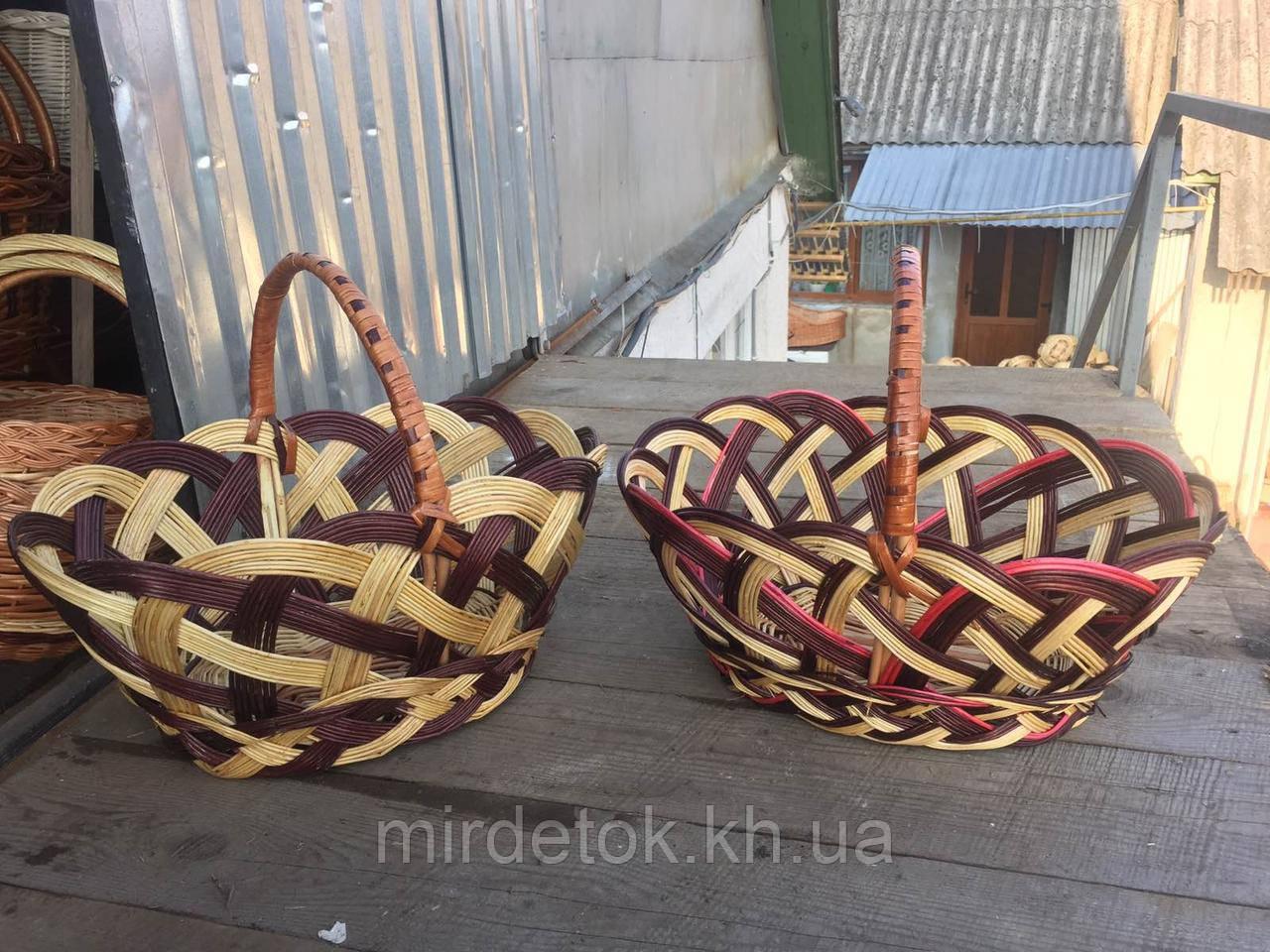 Корзина Трехцветная пасхальная 45 см