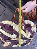 Корзина Трехцветная пасхальная 45 см, фото 3