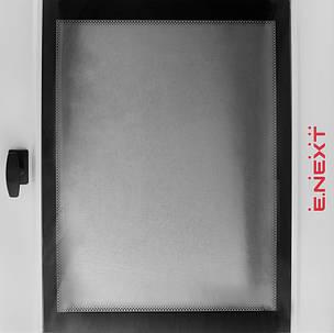 Бокс металлический 750*600*200 IP55 с монтажной панелью и стеклом, фото 2