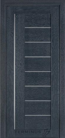 Межкомнатная дверь для частного дома Модель 174 Дуб Антрацит Грей, глухая