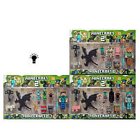 Набор фигурок Minecraft с драконом JDY1602044372