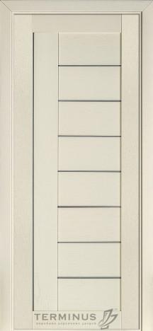 Межкомнатная дверь для частного дома Модель 174 Ясень Crema, глухая