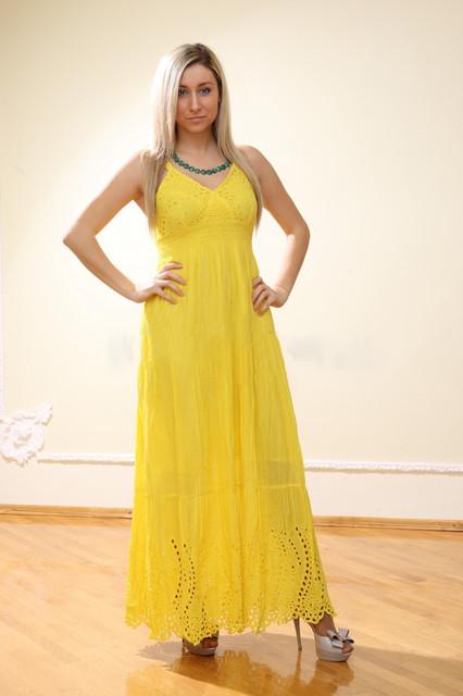 Женские сарафаны, платья и юбки хлопок производства Индия