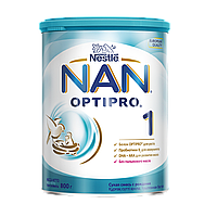 Суха молочна суміш NAN® 1 OPTIPRO® для дітей з моменту народження, 800 г