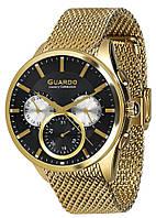 Мужские наручные часы Guardo Золотой S02037m GB, КОД: 1548750
