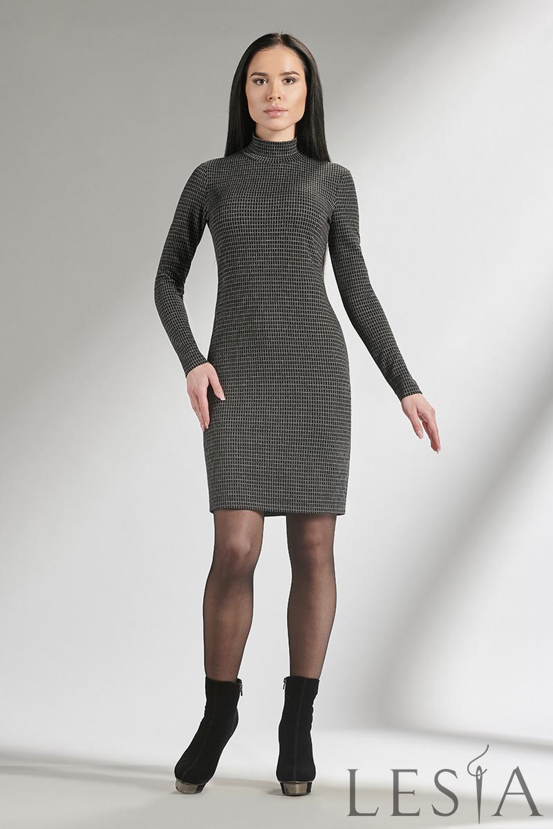 Трикотажное платье-футляр приталенного силуэта Lesya Риада 5