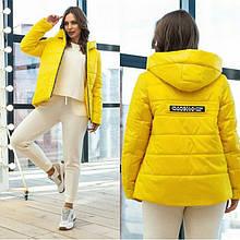 Жіноча демісезонна куртка М-188, р-ри 42-56